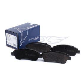 TOMEX brakes Bremseklodser 1K0698451A til VW, AUDI, SKODA, SEAT, PORSCHE køb