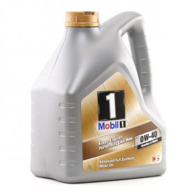 Auto Motoröl MOBIL 0W-40 (153687) niedriger Preis