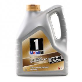 MG MGF Car oil 153687 from MOBIL best quality