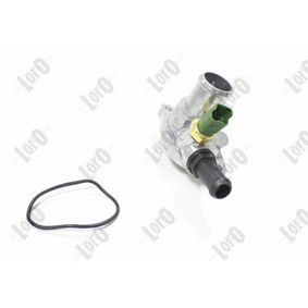 Popular Coolant thermostat ABAKUS 016-025-0015 for FIAT PANDA 1.2 60 HP