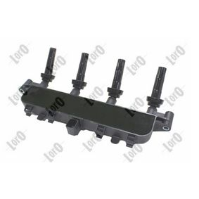 Ignition coil (122-01-081) producer ABAKUS for PEUGEOT 206 Hatchback (2A/C) year of manufacture 09/1998, 60 HP Online Shop