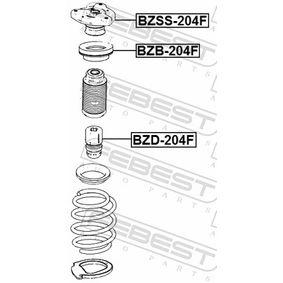 Suspension strut support bearing BZB-204F FEBEST