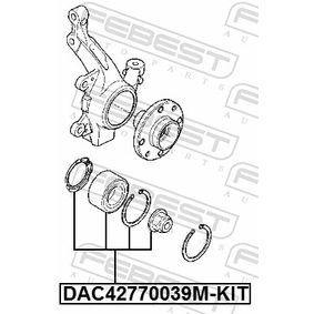 FEBEST Radlagersatz 7701210111 für RENAULT, NISSAN, DACIA, RENAULT TRUCKS bestellen