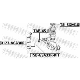Tirante barra estabilizadora TSB-GSA33R-KIT FEBEST