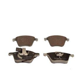 Bremsbelagsatz, Scheibenbremse QUARO Art.No - QP3052 OEM: 1K0698151B für VW, AUDI, FORD, SKODA, NISSAN kaufen