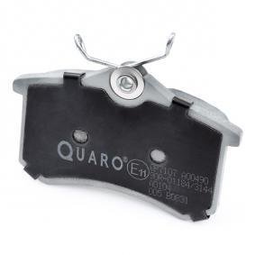 QUARO Bremsbelagsatz, Scheibenbremse (QP7107) zum günstigen Preis