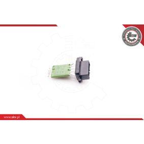 Blower motor resistor 94SKV025 ESEN SKV