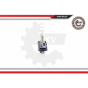 ESEN SKV Blower motor resistor 94SKV025