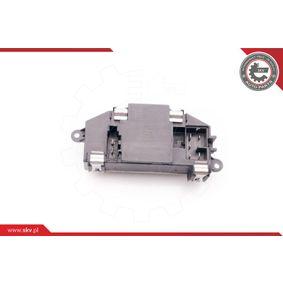 ESEN SKV Odpor, vnitřní tlakový ventilátor 94SKV029