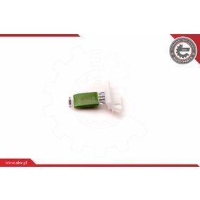 Blower motor resistor 94SKV051 ESEN SKV