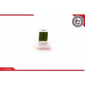 ESEN SKV Blower motor resistor 94SKV051