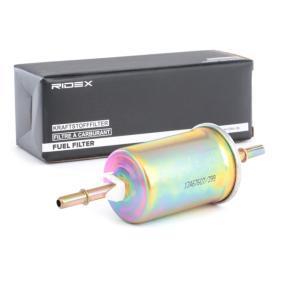 TOURNEO CONNECT RIDEX Filtro de combustible 9F0243