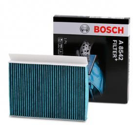 Filter, Innenraumluft BOSCH Art.No - 0 986 628 542 OEM: 71775824 für FIAT, ALFA ROMEO, JEEP, CHRYSLER, DODGE kaufen