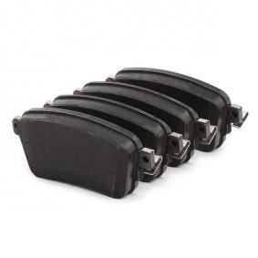 TRW GDB2166 Brake Pad Set, disc brake OEM - 1617936880 CITROËN, OPEL, PEUGEOT, VAUXHALL, CITROËN/PEUGEOT cheaply