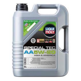 SAE-5W-20 Моторни масла LIQUI MOLY 20793 онлайн магазин