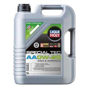 SAE-0W-20 Motorolajok a LIQUI MOLY 6739 eredeti minőségű