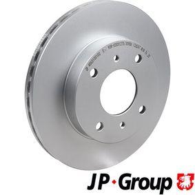 Bremsscheibe JP GROUP Art.No - 4063100100 OEM: 4020671E06 für NISSAN, INFINITI kaufen