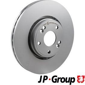 Bremsscheibe JP GROUP Art.No - 4363100600 OEM: 7701206614 für RENAULT, NISSAN, DACIA, RENAULT TRUCKS kaufen