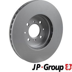 JP GROUP Спирачен диск SDB000440 за OPEL, LAND ROVER, ROVER, MG, MEGA купете