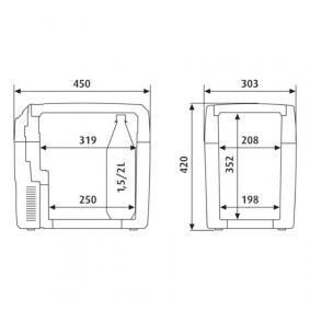 9600000495 Réfrigérateur de voiture pour voitures