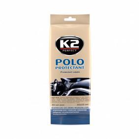 Käsien puhdistusliinat autoihin K2-merkiltä - halvalla