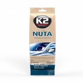 Toallitas para limpieza de las manos para coches de K2 - a precio económico