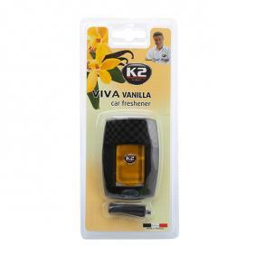 Deodorant pentru mașini de la K2: comandați online