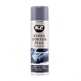 Поръчайте W100 Препарат за почистване / дезифенктант за климатизатора от K2