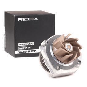 PANDA (169) RIDEX Water pump 1260W0230