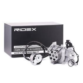 TWINGO II (CN0_) RIDEX Zahnriemensatz mit Wasserpumpe 3096W0033