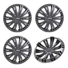 13 GIGA BLACK Wheel covers for vehicles