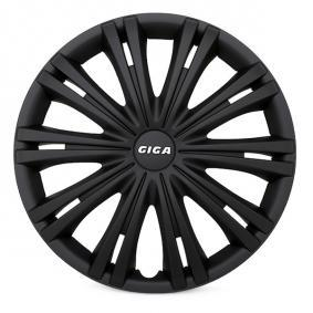 ARGO Proteções de roda 14 GIGA BLACK
