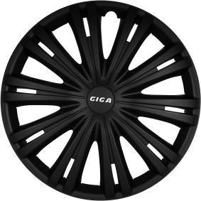 ARGO Капаци за колела 15 GIGA BLACK изгодно