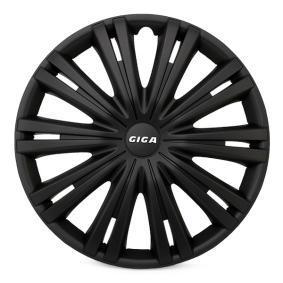 ARGO Капаци за колела 15 GIGA BLACK