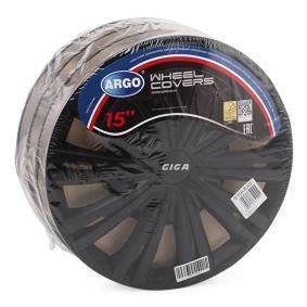 15 GIGA BLACK ARGO Radkappen günstig online