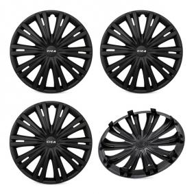 15 GIGA BLACK Wheel covers for vehicles