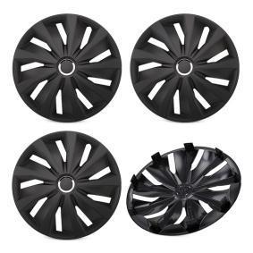 16 GRIP PRO BLACK Hjulkapsler til køretøjer