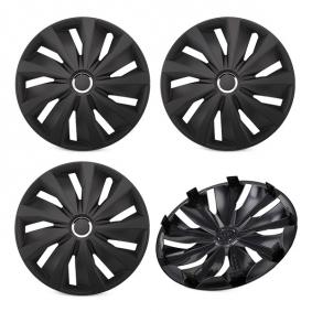 16 GRIP PRO BLACK Wheel covers for vehicles