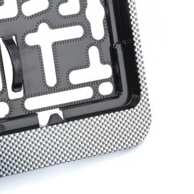 DACAR CARBON Suportes da placa de matrícula de ARGO peças de qualidade