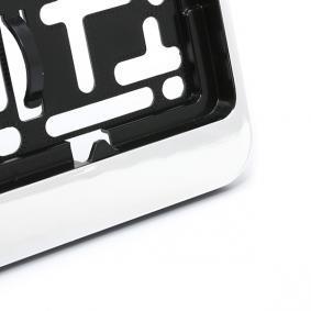ARGO Licence plate holders DACAR CHROM on offer