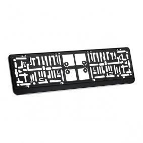 DACAR CHROM Porte plaques d'immatriculation pour voitures
