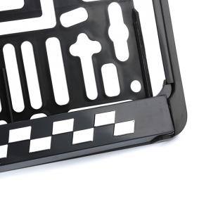 Stark reduziert: ARGO Kennzeichenhalter MONTE CARLO 3D