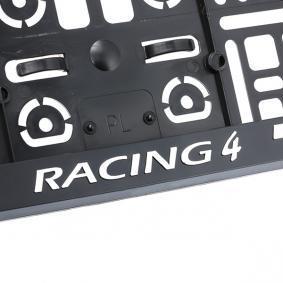 MONTE CARLO 3D Registreringsskylt hållare för fordon