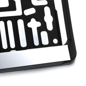 MONTE CARLO CHROM Porte plaques d'immatriculation pour voitures