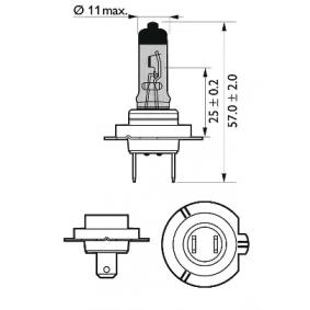 532472 за , Крушка с нагреваема жичка, фар за дълги светлини PHILIPS (12972CVUBW) Онлайн магазин
