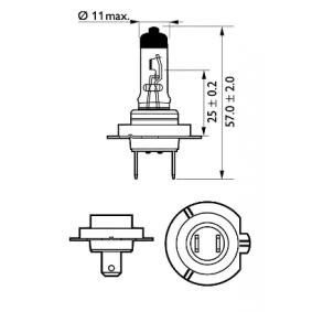 532472 за , Крушка с нагреваема жичка, фар за дълги светлини PHILIPS (12972XV+BW) Онлайн магазин