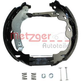 Bremsensatz, Trommelbremse METZGER Art.No - MG 209V OEM: 424216 für FIAT, PEUGEOT, CITROЁN, PIAGGIO, TVR kaufen