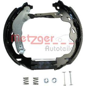 METZGER Bremsensatz, Trommelbremse 424216 für FIAT, PEUGEOT, CITROЁN, PIAGGIO, TVR bestellen