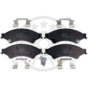 Bremsbelagsatz, Scheibenbremse OPTIMAL Art.No - 12698 OEM: 1605281 für OPEL, VAUXHALL kaufen
