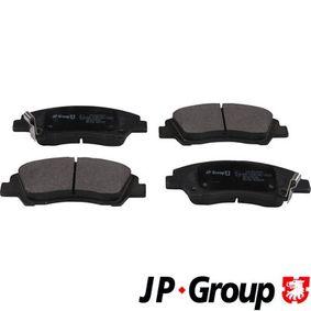 JP GROUP Bremsbelagsatz, Scheibenbremse 58101B4A00 für HYUNDAI, CITROЁN, KIA bestellen